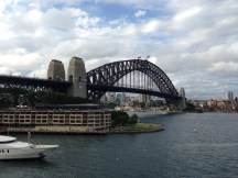The Sydney Harbour Bridge and the Park Hyatt